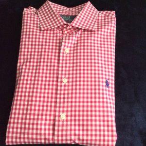 Ralph Lauren Polo Berry Gingham dress shirt